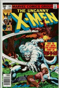 X-Men #140, 9.0 or Better, Classic Wendigo Cover