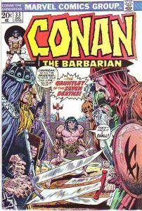 Conan the Barbarian #33 (Dec-73) VF High-Grade Conan the Barbarian