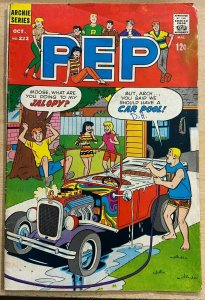 PEP #222 (Archie, 10/1968) GOOD PLUS (G+) Archie, Moose, Betty, Veronica