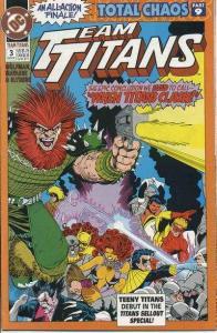 Team Titans #3, NM- (Stock photo)