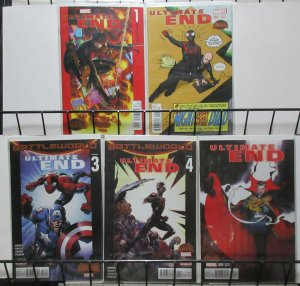 Ultimate End (Marvel 2015) #1-5 Secret Wars Tie-In Spidey Prepares!
