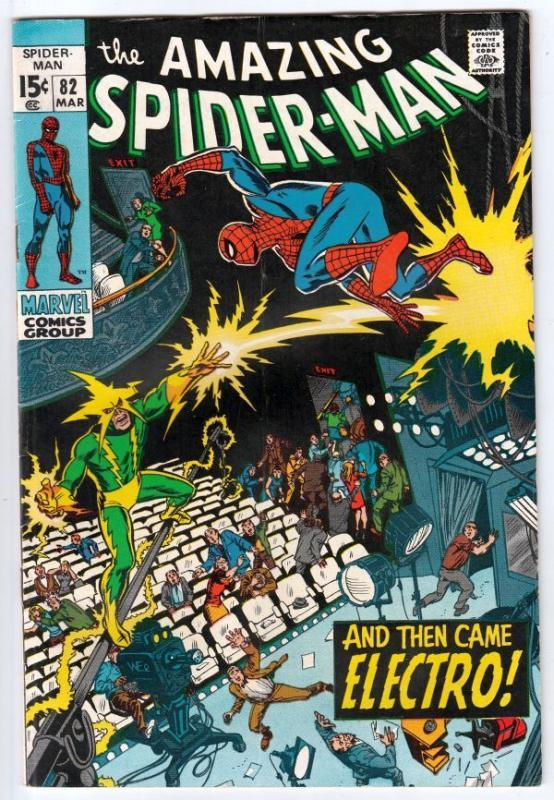 Amazing Spider-Man 82 strict FN/VF 7.0 Mid-High-Grade  Tons more Spidey's up now