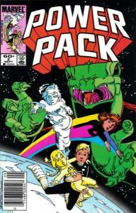 Power Pack (1984 series) #2, VF- (Stock photo)