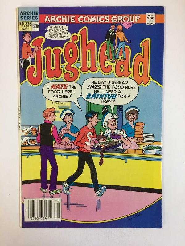 JUGHEAD (1949-1987)326 VF-NM Dec 1982 COMICS BOOK