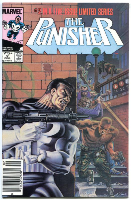 PUNISHER #2, FN/VF, Mike Zeck, Mini Series, 1986, Marvel, more in store