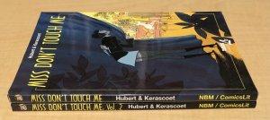 Miss Don't Touch Me TPB Lot #1-2 Complete NBM Series Hubert & Kerascoet
