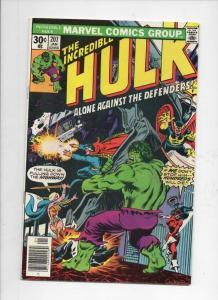 HULK #207, VF, Incredible, Bruce Banner, Dr Strange, 1968 1977, Marvel