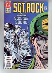 Sgt. Rock Special #13 (Jun-91) NM- High-Grade Sgt. Rock