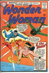 Wonder Woman #157 1965-DC Comics-commie attack cover-high grade-VF