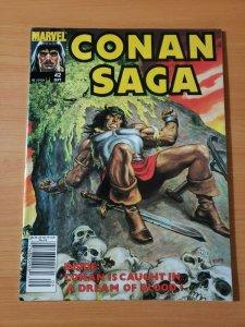 Conan Saga #42 ~ NEAR MINT NM ~ 1990 Marvel Comics