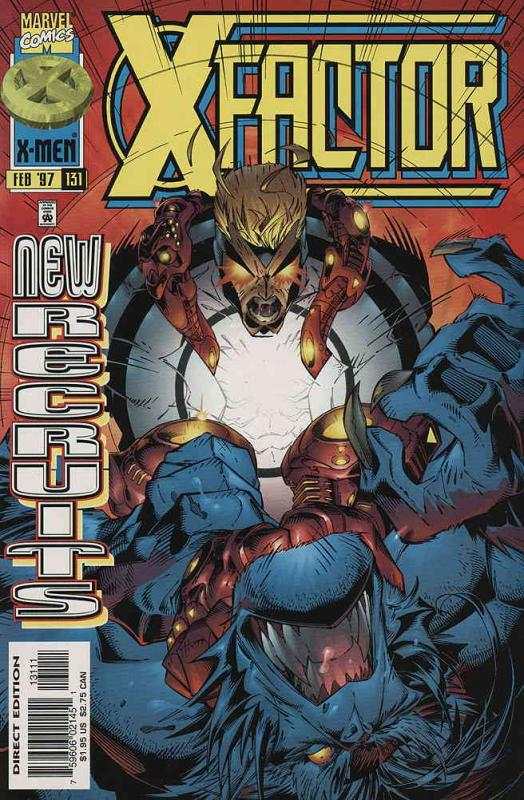 X-Factor #131 VF/NM; Marvel | save on shipping - details inside