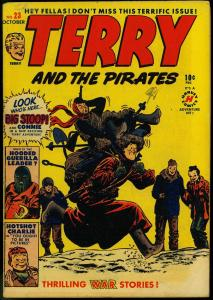 Terry And The Pirates #23 1950-Milton Caniff art - Hooded Guerrilla VG/FN
