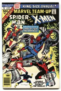 Marvel Team-Up Annual #1 comic book 1976- Cockrum cover  Early New X-Men