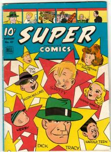 Super Comics #87 (Aug-45) VG+ Affordable-Grade Dick Tracy