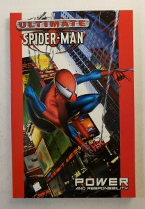 ULTIMATE SPIDER-MAN VOL.1 POWER AND RESPONSIBILITY  TPB SOFT COVER 1ST PRINT NM