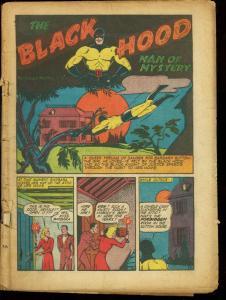 TOP-NOTCH #14-BLACK HOOD-BOB PHANTOM-THE WIZARD P