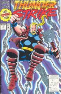 Thunderstrike (1993 series) #1, NM (Stock photo)