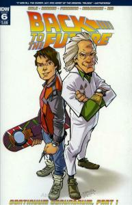 Back To The Future (IDW) #6 FN; IDW | save on shipping - details inside