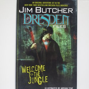 Welcome to the Jungle: The Dresden Files Hardcover Graphic Novel New and Unread
