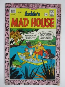 ARCHIES MADHOUSE 40 F- 6/1965 COMICS BOOK
