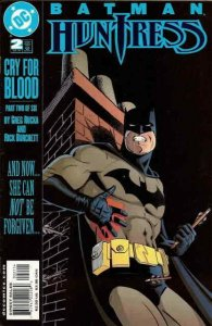 Batman/Huntress: Cry for Blood #2 FN; DC | save on shipping - details inside