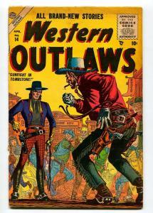 WESTERN OUTLAWS #14 1956-DON HECK-WILLIAMSON-DICK AYERS-JOHN ROMITA-FR/G