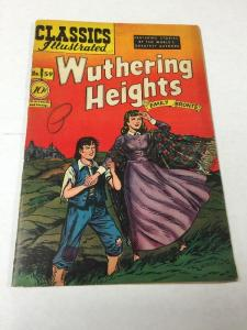 Classics Illustrated 59 1st Printing Fn- Fine - 5.5 Wuthering Heights