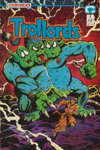 Trollords (1988 series) #2, NM- (Stock photo)