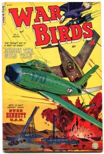 WAR BIRDS #3 1953-FICTION HOUSE COMICS-BUZZ BENNETT FN