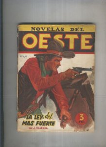 Novelas del Oeste 30:La ley del mas fuerte