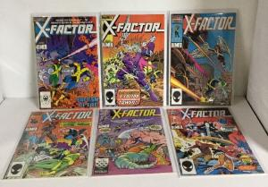 X-Factor 1-4 7 8 11 12 14-16 19 20 Lot Set Run Fn-Vf Fine-Very Fine 6.0-8.0