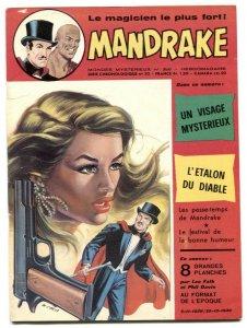 Mandrake the Magician #386 1973- French comic VG