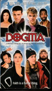 Dogma VHS  Director/Comic Book writer Kevin Smith's Controversial Movie !