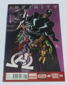 Infinity New Avengers #8 NM/NM+ 9.4~9.6 High Grade Comic 1st Black Order Key