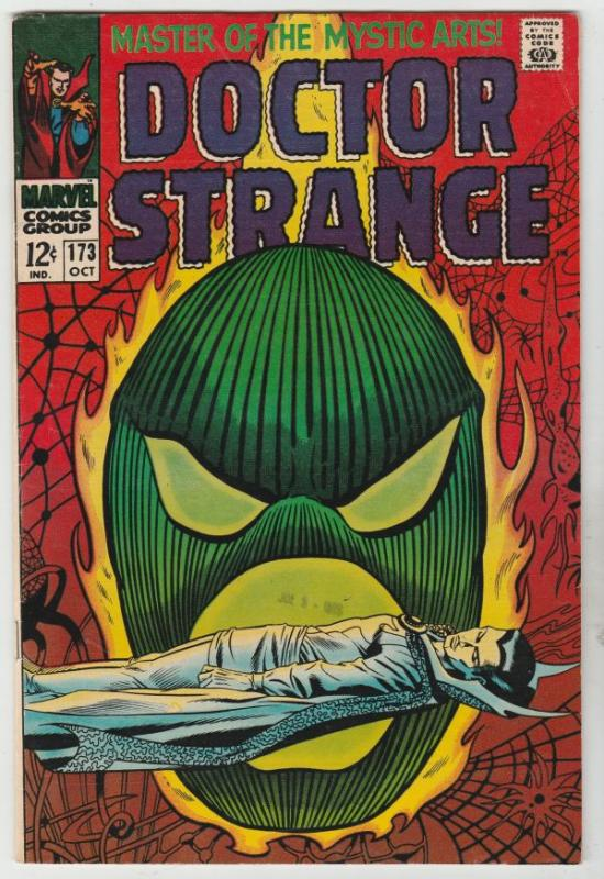 Doctor Strange #173 (Oct-68) FN/VF+ High-Grade Dr. Strange
