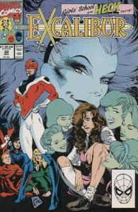 Excalibur #32A FN; Marvel | save on shipping - details inside
