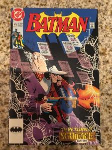 DC Batman 475 * 1st Appearance Of Renee Montoya *