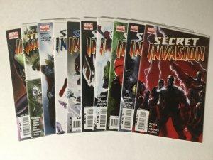 Secret Invasion 1-8 What If Skrulls Lot Nm Near Mint Marvel