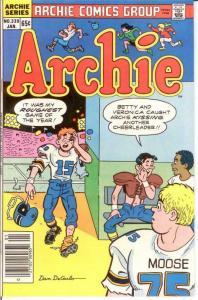 ARCHIE  (1942-     )339 VF-NM Jan. 1986 COMICS BOOK