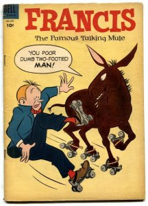 Four Color Comics #579- Francis The Talking Mule- Roller skate cover