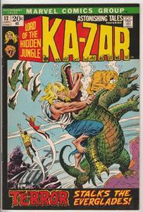 Astonishing Tales #12 (Jun-72) VF+ High-Grade Ka-Zar