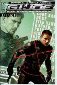 G.I. Joe Movie Prequel—Duke #1A VF/NM; IDW | save on shipping - details inside