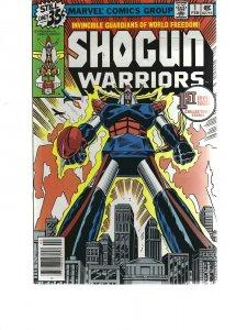 SHogun WArriors #1