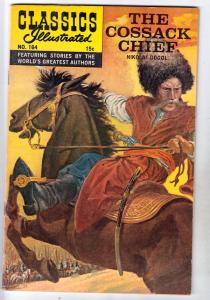 Classics Illustrated #164 (Oct-61) FN/VF Mid-High-Grade Cossack Chief Nikgola...