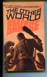 DOC SAVAGE-THE OTHER WORLD-#29-ROBESON-VG/FN-JAMES BAMA COVER-1ST EDITION FN