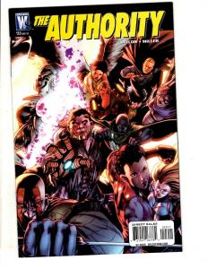 Lot Of 6 The Authority Wildstorm Comic Books # 23 24 25 27 28 1 Taylor JC11