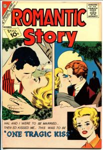 Romantic Story #58 1964-Charlton-fantastic art-high grade copy-glossy cover-NM