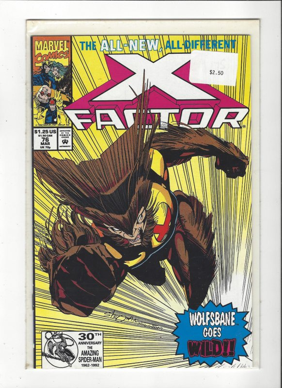X-Factor #76 All New, All Different Peter David NM