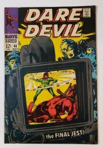 Daredevil #46: The Final Jest! Marvel Comics Silver Age 1968 VF-