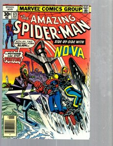 Amazing Spider-Man # 171 VF/NM Marvel Comic Book MJ Vulture Goblin Scorpion TJ1